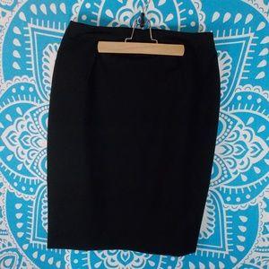 Body by Victoria Classic Black Pencil Skirt Sz 12